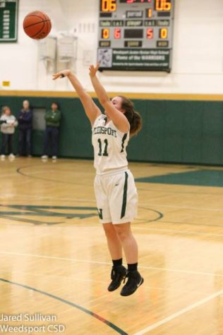 Weedsport Girls Basketball Defeats APW; Files Scores 1000 Points