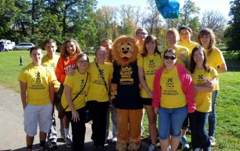 Weedsport's NHS Students Help Out at Buddy Walk