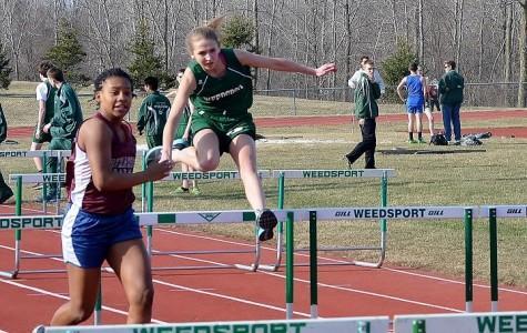 WHS Girls Track Team Pushes Through Rebuilding Season