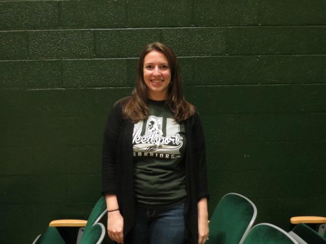 Weedsport Welcomes Promising New Chorus Teacher this Fall