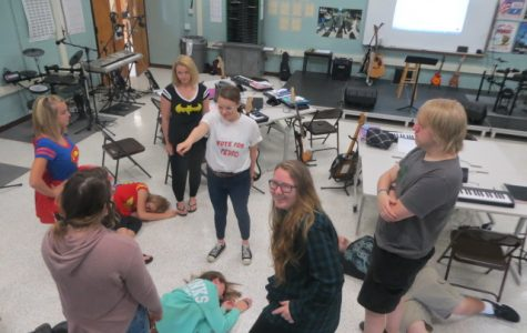 A Look at the New Theater Class at WCS