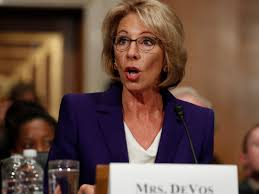 A Look at Trump's Pick for Secretary of Education