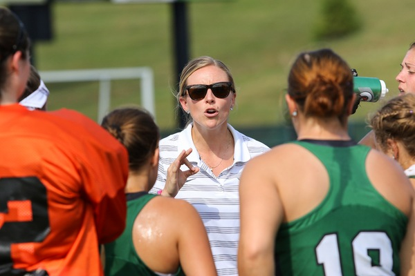 Beardsley coaches her Morrisville squad.
