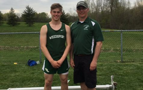 Steve Gilfus Breaks His Dad's Pole Vault Record
