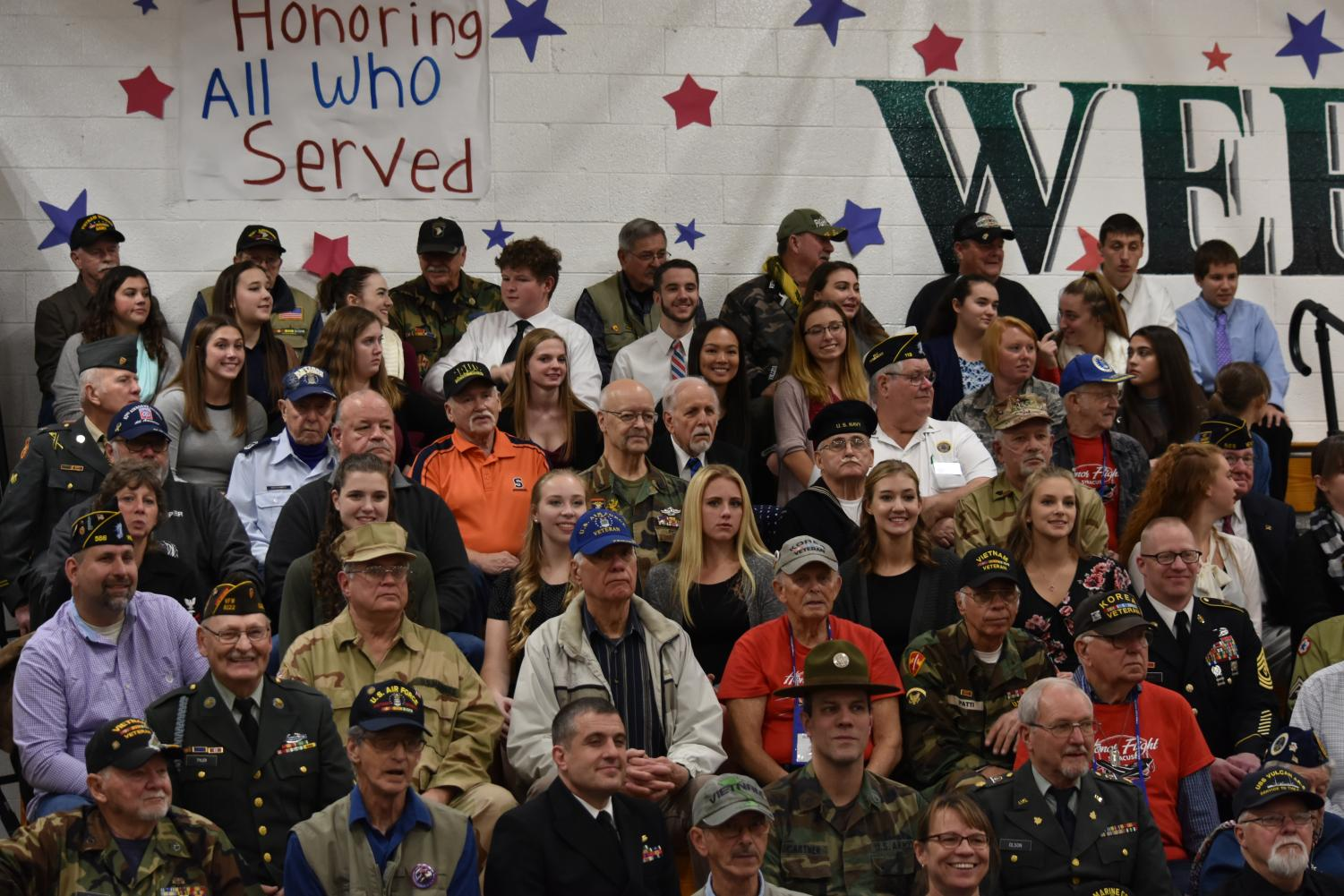 WHS+students+join+our+veterans+at+the+end+of+the+show.