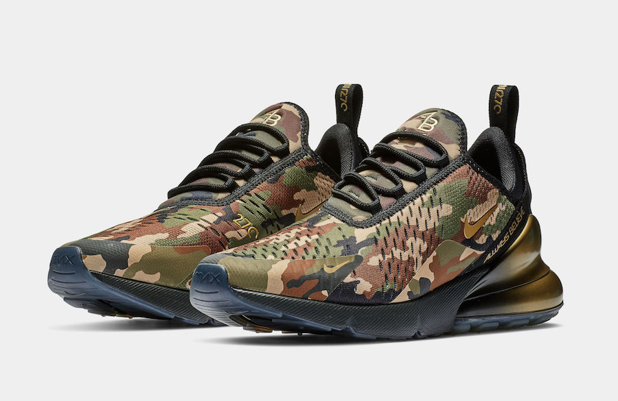 These Nike Air Max 270s, Doernbecher Version, recently sold at auction for $10,000. Are they on your Christmas List?