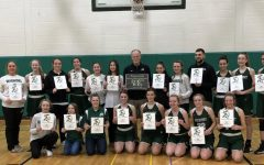 The Weedsport Varsity Girls Basketball Team recently celebrated Coach Chris Vargason's 200th victory.